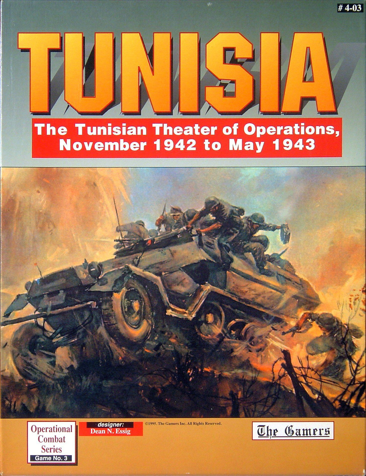 Tunisia Box Front